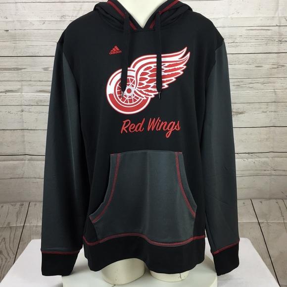 d2b90c87 adidas Tops | Nwt Womens Detroit Red Wing Hockey Hoodie | Poshmark